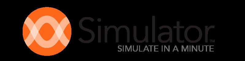 Simulator लोगो