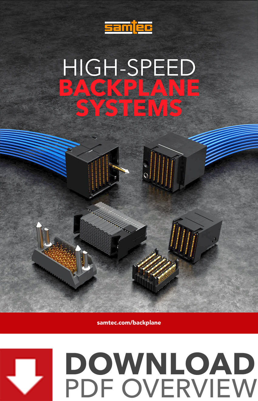 High-Speed Backplane Systems Brochure