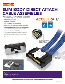 AcceleRate® Cable eBrochure
