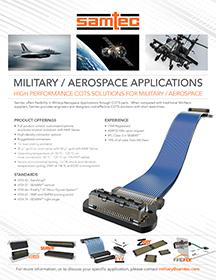 सैन्य/वांतरिक्ष अनुप्रयोग