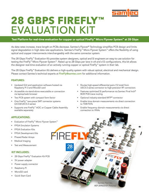 28Gbps FireFly™ Kit Product Brief