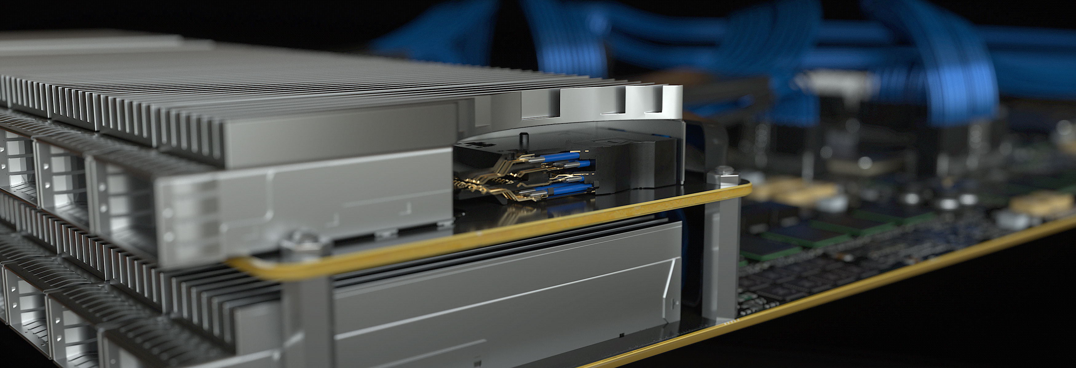 Flyover QSFP28 Cable Systems | Samtec