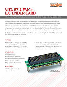 FMC+ Extender Card Product Brief