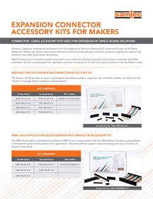 Expansion Connector Sample Kits for Makers