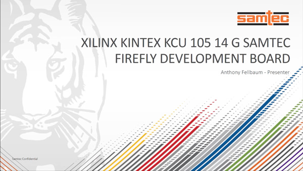 14G FireFly™ KCU105