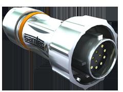 AccliMate™ IP68密封圆形插头电缆组件、16 mm外壳、现场终端套件