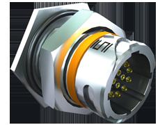 AccliMate™ IP68密封圆形插座面板组件、16mm外壳、现场端接套件