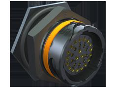 AccliMate™ IP68密封圆形插座面板组件、22mm外壳、现场端接套件