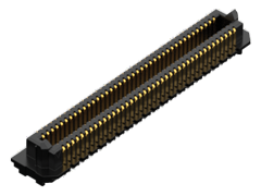 0.635 mm AcceleRate® HD High-Density 4-Row Terminal