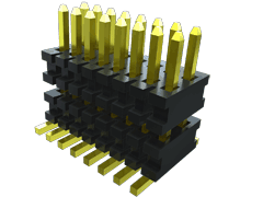 0.80 mm Flex Stack, Surface Mount Micro Board Stacker