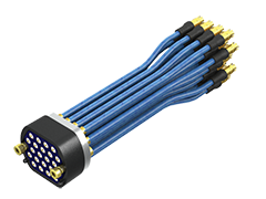 Bulls Eye® High-Density, High-Performance Test Point Array Cable Assembly