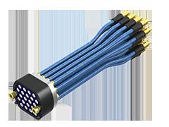 Bulls Eye®高密度、高性能测试点阵列电缆组件