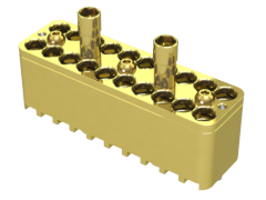 Replacement Block for 50 GHz, Bulls Eye® (BE40A) High Performance Test System