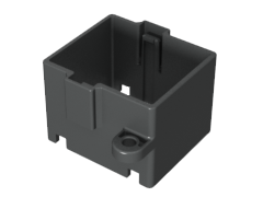 Panel Retention Bracket for ExaMAX® Backplane Cable Header