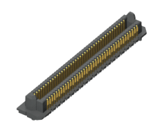 0.635 mm AcceleRate® HD High-Density 4-Row Header