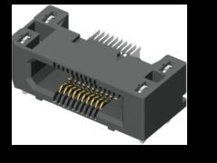 0.50 mm Edge Rate®ラギッド ハイスピード ソケットストリップ、ライトアングル