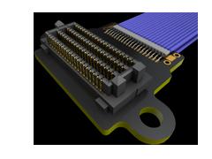 0.80 mm SEARAY™ハイスピード/高密度アレー マイクロ同軸ケーブル アッセンブリー