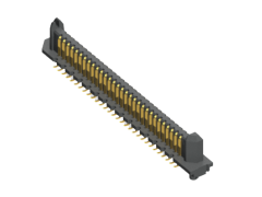 0.635 mm Edge Rate® High-Density 2-Row Header