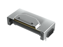 0.50 mm High-Speed Right-Angle Edge Card Socket for FEDP Series
