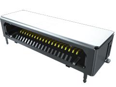 0.80 mm高速经济型微型同轴电缆,PCB插座