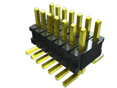 "Surface Mount Micro Header, 0.050"" x 0.100"" Pitch"
