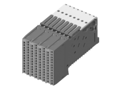 XCede® HD 1.80 mm High-Density Backplane Right-Angle Receptacle