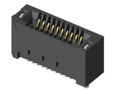 1.00 mm Edge Rate® High-Speed Edge Card Connector, Vertical