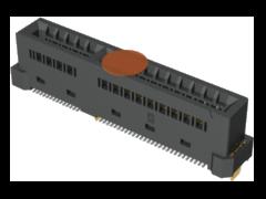 0.60 mm Edge Rate®高速插卡式连接器,垂直