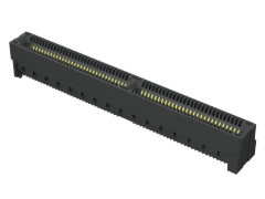 0.80 mm Rugged High-Speed Edge Card Connectors