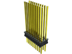 ".050"" X .100"" High-Temp Through-hole Micro Terminal Strip"
