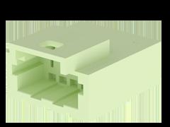 1.00 mm Micro Mate™1列パネル実装ディスクリートワイヤーケーブル アッセンブリーハウジング、ターミナル