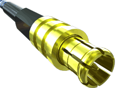 50 Ohm MCX Jack or Plug, Cable Termination