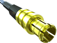 75 Ohm True75™ MCX Plug, Cable Termination