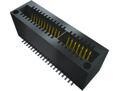 1.00 mm Mini Edge Card Socket, Vertical