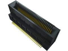0.635 mm Mini Edge Card Connector, Vertical
