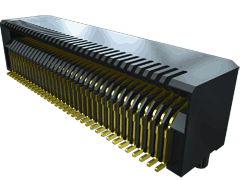 0.80 mm SFP+ Edgecard-Steckverbinder