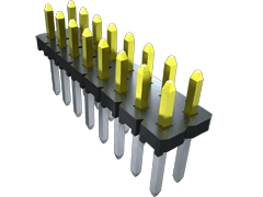 ".100"" Low Profile Variable Post Height Terminal Strip"