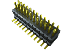1.00 mm Flex Stack, Flexible Micro Board Stacker, Surface Mount