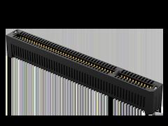 1.00 mm PCI Express®细长型插卡式连接器