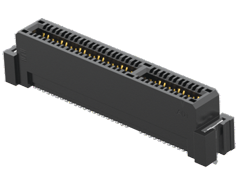1.00 mm PCI Express® Gen 5 Edge Card Connector