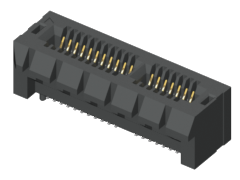 1.00 mm PCI Express® Low Profile Edge Card Connector