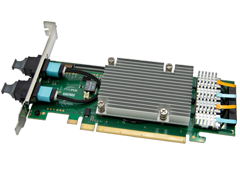 PCIe®-Over-Fiber Adaptor Card