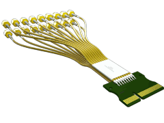 PCI Express® Cable Assembly with Low Loss Microwave Cable