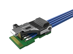 PCIe® Twinax Flyover Cable Assembly