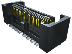0.635 mm Q2™ उच्च -गति  मज़बूत प्लेन सॉकेट स्ट्रिप, विभेदक जोड़ी