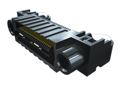 0.635 मिमी Q2™ हाई-स्पीड मजबूत ग्राउंड प्लेन सॉकेट पट्टी, राइट  एंगल