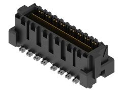 0.635 mm Q2™ High-Speed Rugged Ground Plane Terminal Strip, Differential Pair