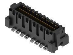 0.635 मिमी Q2™ हाई-स्पीड मजबूत ग्राउंड प्लेन टर्मिनल पट्टी,विभेदक जोड़ी