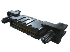 0.635 mm Q2™ High-Speed Rugged Ground Plane Terminal Strip, Edge Mount