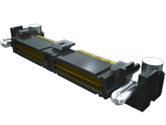 0.635 mm Q2™ High-Speed Rugged Ground Plane Terminal Strip, Right-Angle
